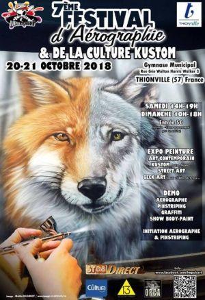 Festival d\'Aérographie de Guénange 2018