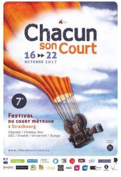 Festival de courts-métrages «Chacun son court #7» à Strasbourg 2017