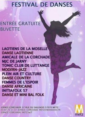 Festival de Danses de la Corchade 2018 à Metz