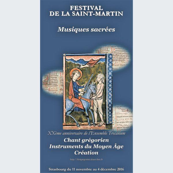 Festival de la saint martin dans les glises de strasbourg - Office de tourisme la pierre st martin ...