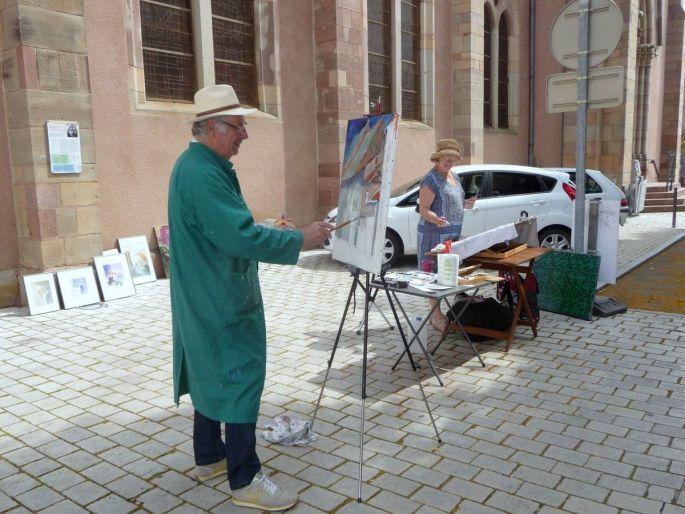 Le Festival de peinture à Ensisheim