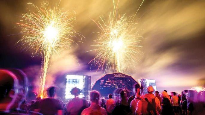 Le festival Décibulles se clôture avec un feu d\'artifice