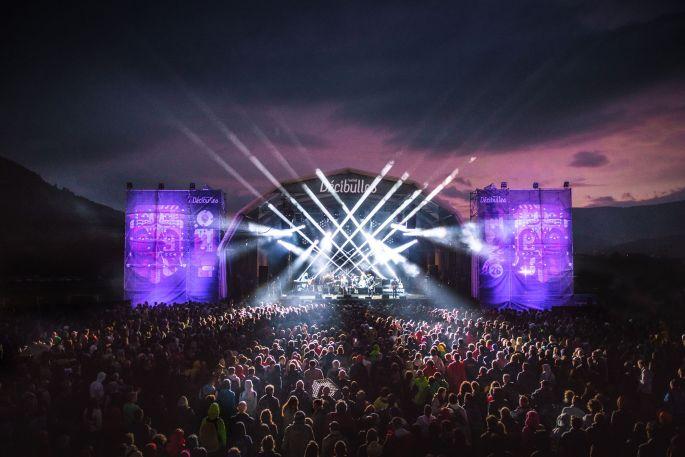 La scène du Festival Décibulles, version 2019