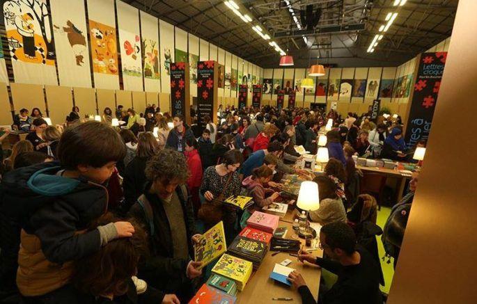 Festival du livre jeunesse de Villeurbanne près de Lyon