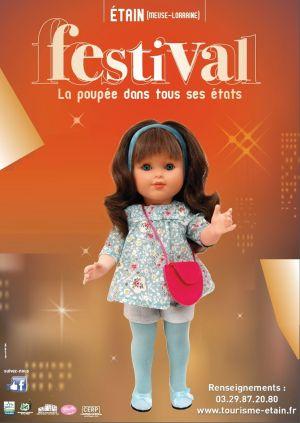 Festival La poupée dans tous ses états 2018 à Etain