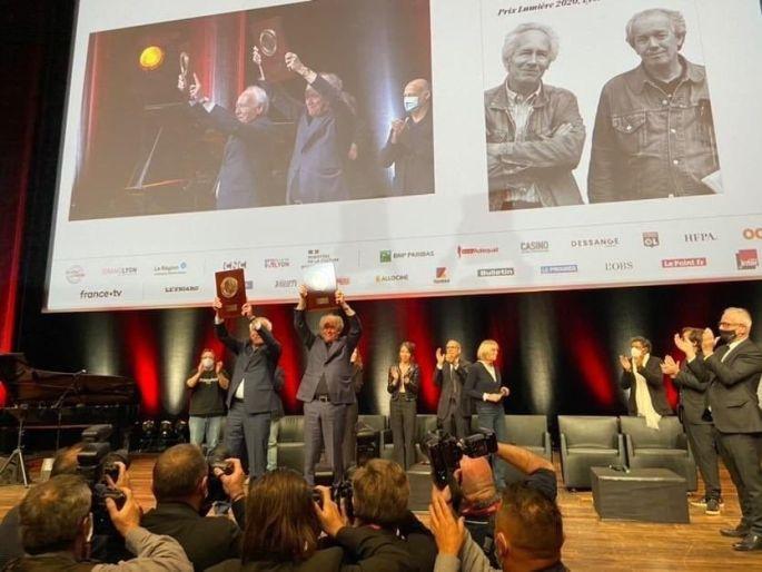 Jean-Pierre et Luc Dardenne ont reçu le 12e Prix Lumière (en octobre 2020)