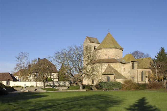 L\'abbatiale d\'Ottmarsheim sera valorisée par un mapping vidéo