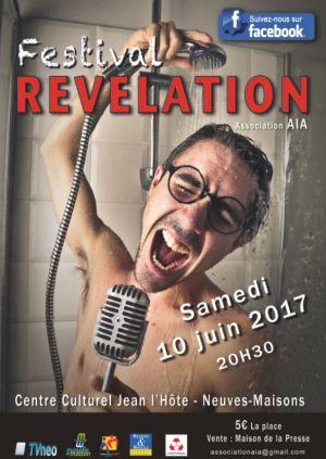 Festival Révélation à Neuves-Maison 2018
