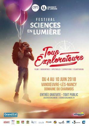 Festival Sciences en Lumière 2018
