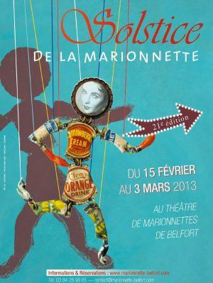 Festival Solstice de la Marionnette de Belfort 2013