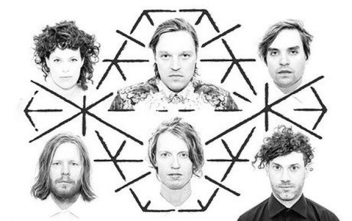 Arcade Fire, l\'une des têtes d\'affiche du festival Southside 2014