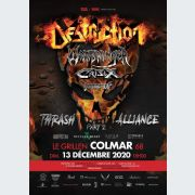 Destruction Warbringer Crisix Domination inc.