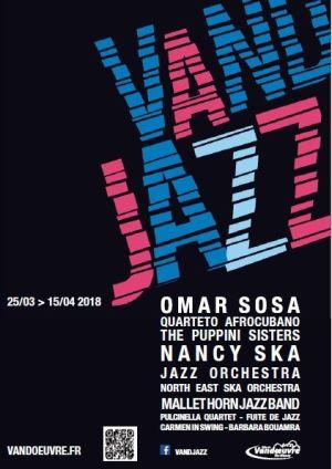 Festival Vand\'Jazz 2018