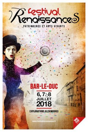 Festrival Renaissances à Bar-le-Duc 2018