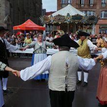 Fête de l\'oignon doré et des vendanges 2017 à Mulhouse