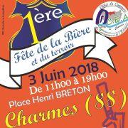 Fête de la bière et du terroir à Charmes 2018