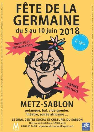 Fête de la Germaine à Metz 2018