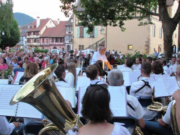 Fête de la musique de l\'harmonie Echo de Turckheim