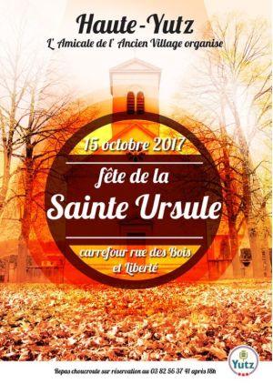 Fête de la Sainte-Ursule 2018 à Yutz
