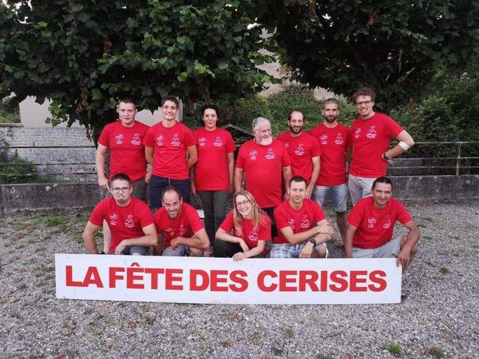 Le Comité de la Fête des Cerises à Fougerolles