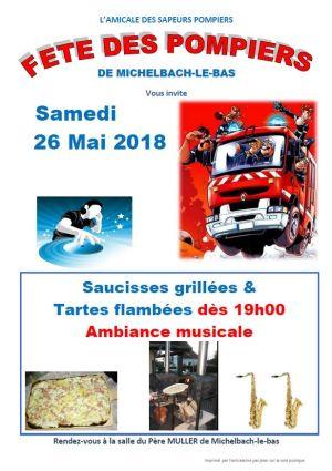Fête des pompiers à Michelbach-le-Bas 2018