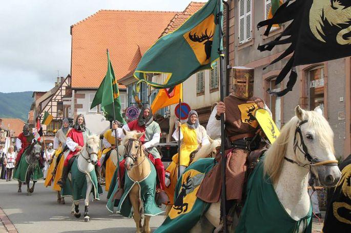 Plus de 500 acteurs en costumes d\'époques animeront les rues de Châtenois