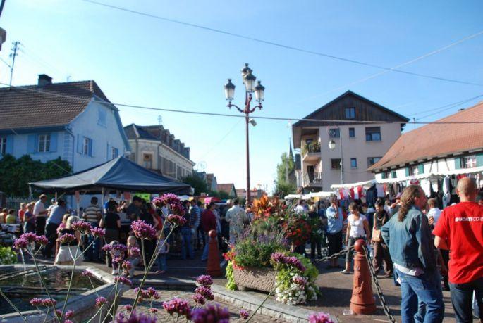 Fête des rues (Trottoirfascht)à Blotzheim