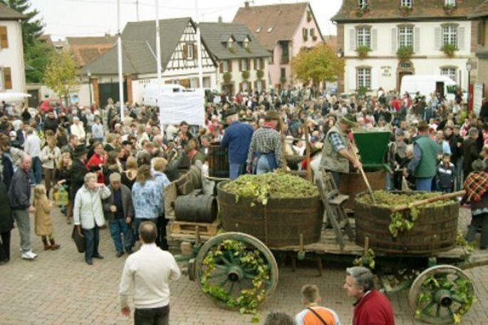 Fête des vendanges à Marlenheim