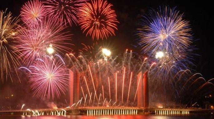 Fête du 14 juillet à Bordeaux
