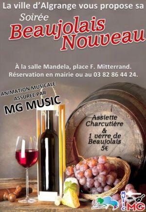Fête du Beaujolais nouveau 2018 à Algrange