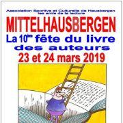 Fête du livre à Mittelhausbergen 2019
