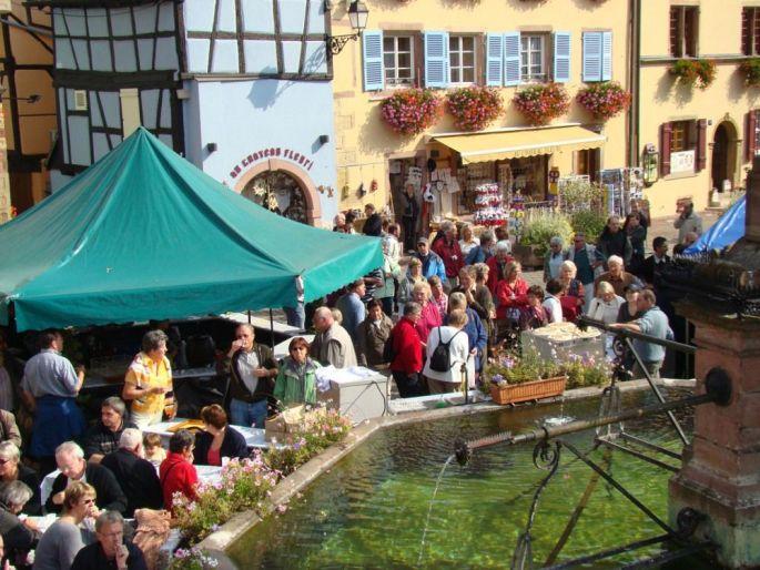 Fête du Vin Nouveau à Eguisheim 2017