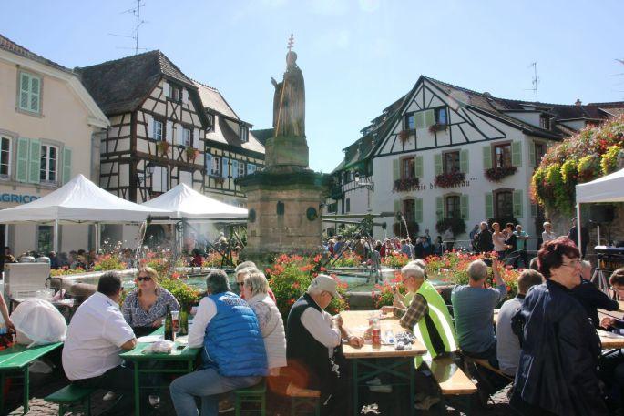 Fête du Vin Nouveau à Eguisheim