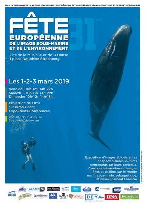 Fête Européenne de l\'Image Sous-Marine et de l\'Environnement à Strasbourg 2019