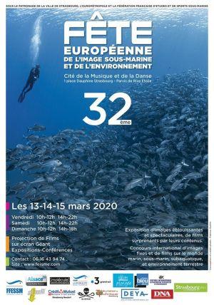 Fête Européenne de l\'Image Sous-Marine et de l\'Environnement à Strasbourg