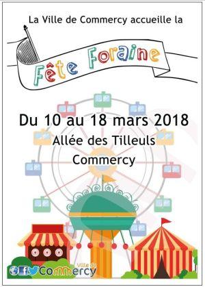 Fête foraine de Commercy 2018