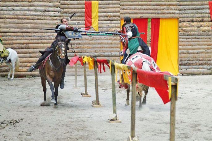 Combats de chevaliers à Ferrette !