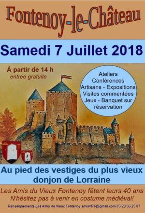 Fête médiévale de Fontenoy-le-Château