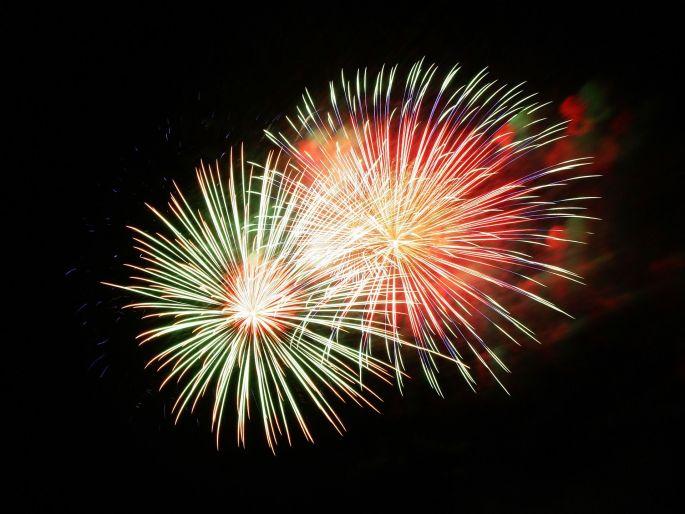 Un feu d\'artifice clôture les festivités de la Fête nationale à Dijon