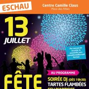 Fête Nationale 2018 à Eschau