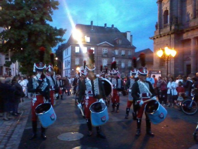 Le défilé des Hussards