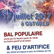 Fête Nationale 2017 à Ostwald
