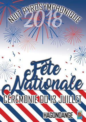 Fête Nationale 2018 à Hagondange