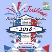 Fête Nationale 2018 à Marange-Silvange