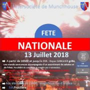 Fête nationale 2018 à Munchhouse