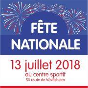Fête Nationale 2018 à Oberhausbergen