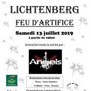 Fête Nationale 2019 à Lichtenberg