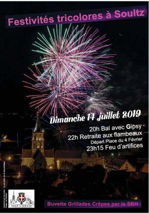 Fête Nationale 2019 à Soultz