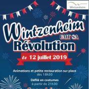 Fête Nationale 2019 à Wintzenheim : Wintzenheim fait sa révolution !