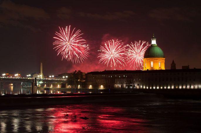 Fête nationale à Toulouse
